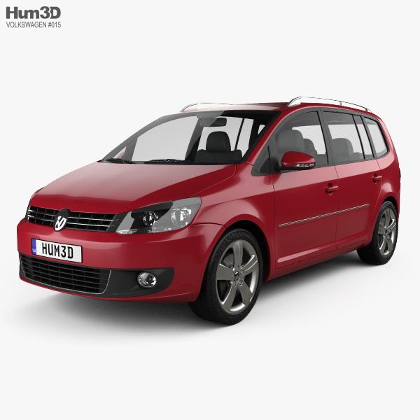 3D model of Volkswagen Touran 2011