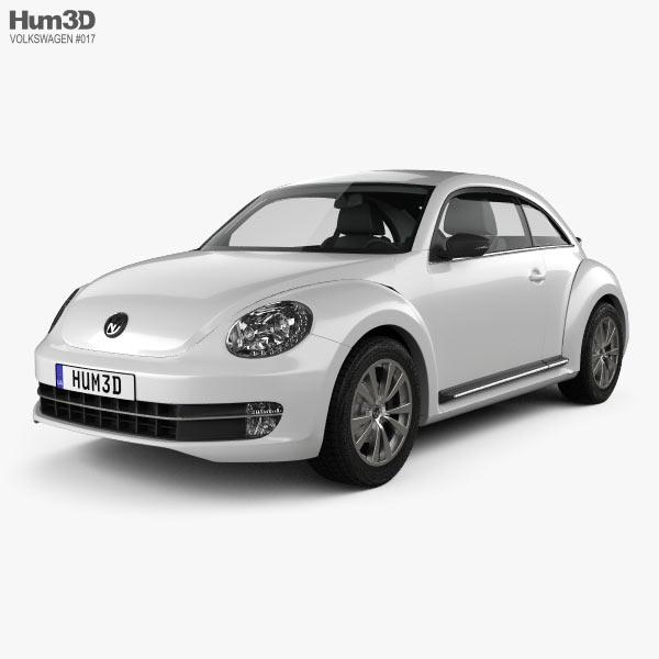 Volkswagen Beetle 2012 3D model