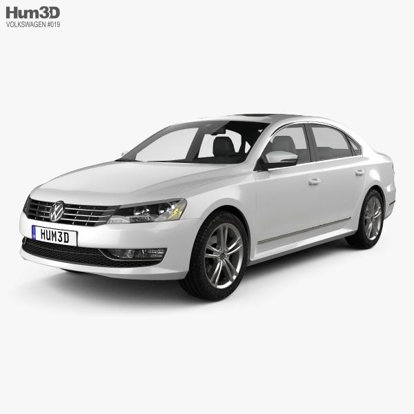 Volkswagen Passat US 2012 3D model