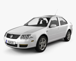 3D model of Volkswagen Jetta City