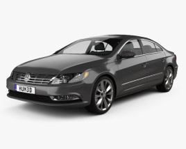 3D model of Volkswagen Passat CC 2013