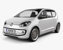 3D model of Volkswagen Up 2012