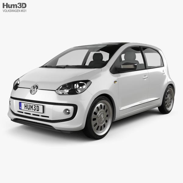 Volkswagen Up 5-door 2012 3D model