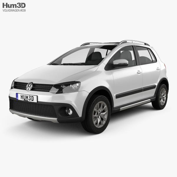 Volkswagen CrossFox 2012 3D model