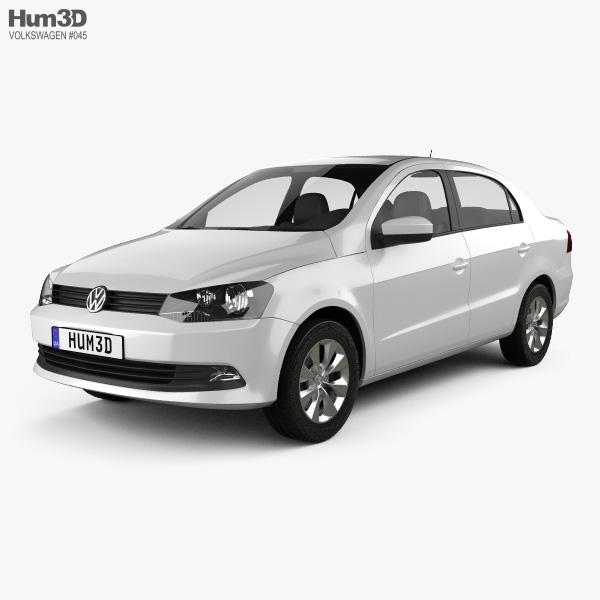 Volkswagen Voyage 2012 3D model