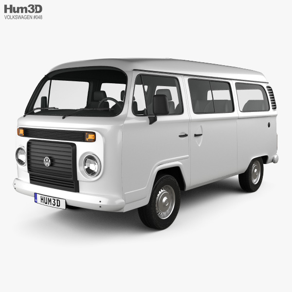 Volkswagen Kombi (T2) 2012 3D model