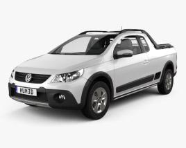 Volkswagen Saveiro Cross 2012 3D model