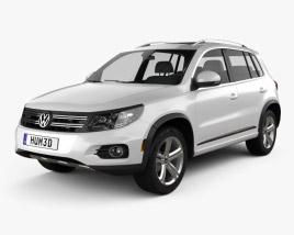 Volkswagen Tiguan Track & Style R-Line US 2013 3D model