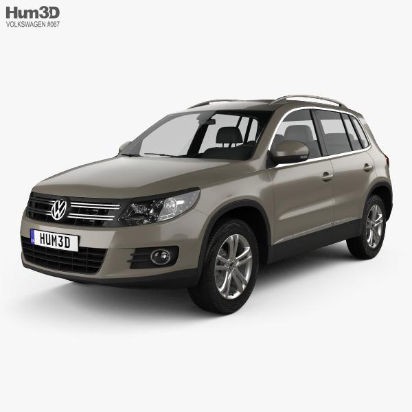 Volkswagen Tiguan Sport & Style 2012 3D model