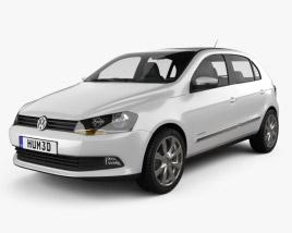 Volkswagen Gol 2012 3D model