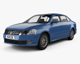 3D model of Volkswagen Lavida 2012