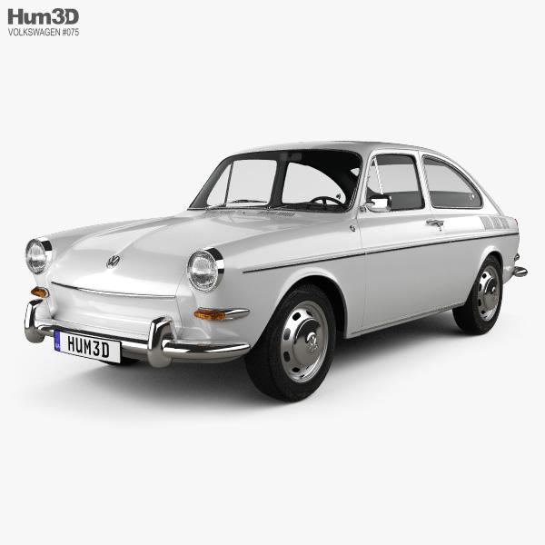 Volkswagen Type 3 (1600) fastback 1965 3D model