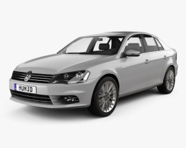 3D model of Volkswagen Bora (CN) 2012