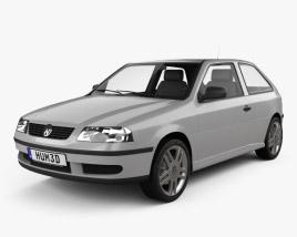 Volkswagen Gol 2003 3D model