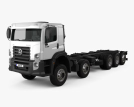 3D model of Volkswagen Constellation Chassis Truck 2013