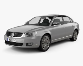 3D model of Volkswagen Passat Lingyu 2009