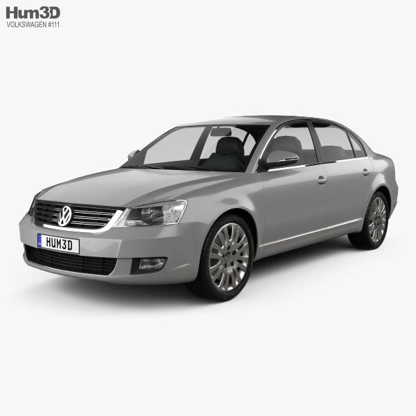Volkswagen Passat Lingyu 2009 3D model
