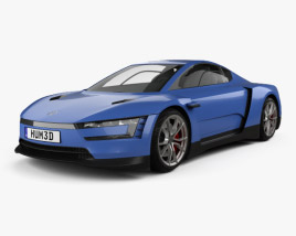 3D model of Volkswagen XL Sport 2014