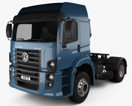 3D model of Volkswagen Constellation (19-390) Tractor Truck 2-axle 2011