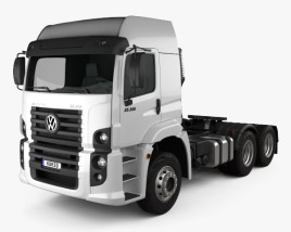 Volkswagen Constellation (25-390) Tractor Truck 3-axle 2011 3D model