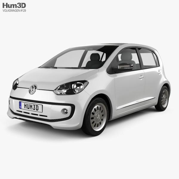 Volkswagen Up 5door BR-spec 2014 3D model