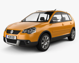 3D model of Volkswagen Cross Polo 2006