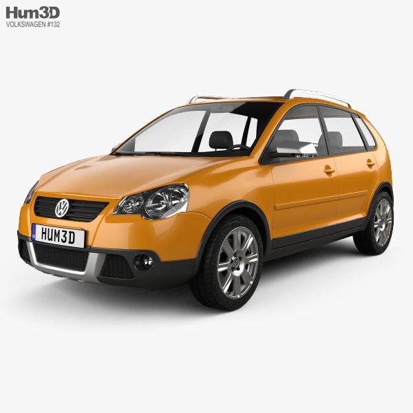 3D model of Volkswagen Cross Polo 2006