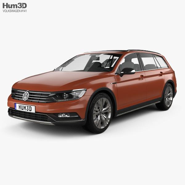 Volkswagen Passat (B8) Alltrack 2016 3D model
