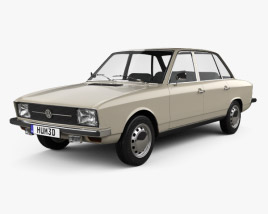 3D model of Volkswagen K70 1971