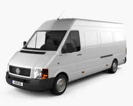 3D model of Volkswagen LT Panel Van L3H2 1996