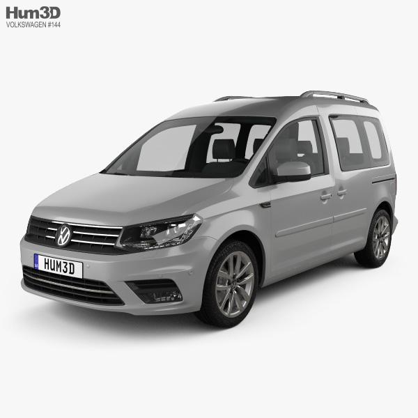 Volkswagen Caddy Highline 2015 3D model
