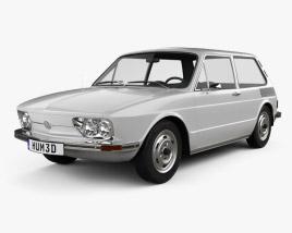 Volkswagen Brasilia 1973 3D model
