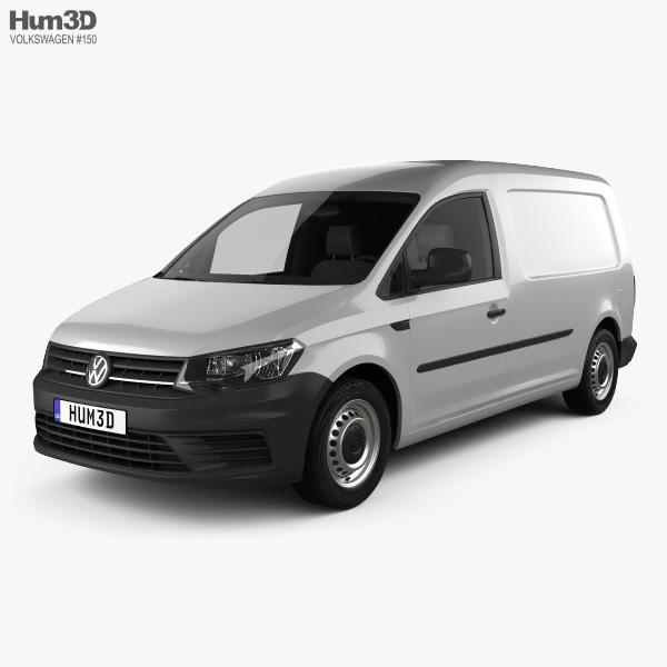 Volkswagen Caddy Maxi Panel Van 2015 3D model