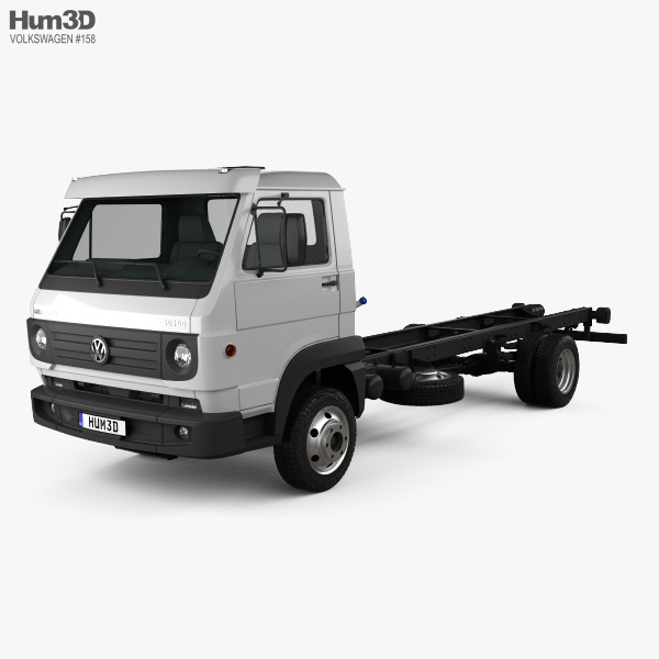 Volkswagen Delivery Chassis Truck 2012 3D model