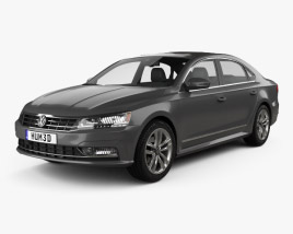 3D model of Volkswagen Passat (NMS) 2016