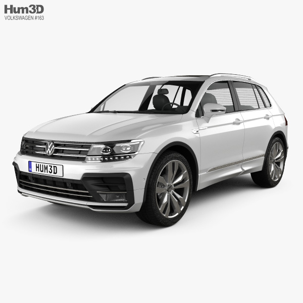 Volkswagen Tiguan R-line 2015 3D model