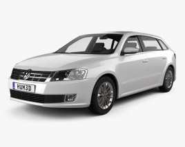 3D model of Volkswagen Gran Lavida 2013