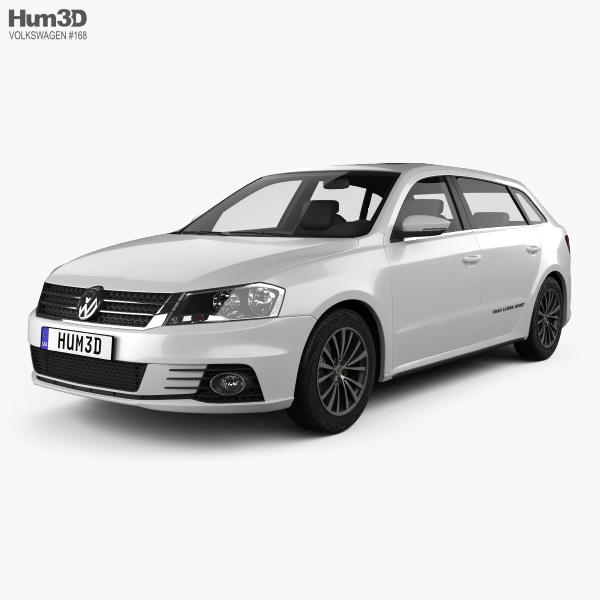 Volkswagen Gran Lavida Sport 2013 3D model