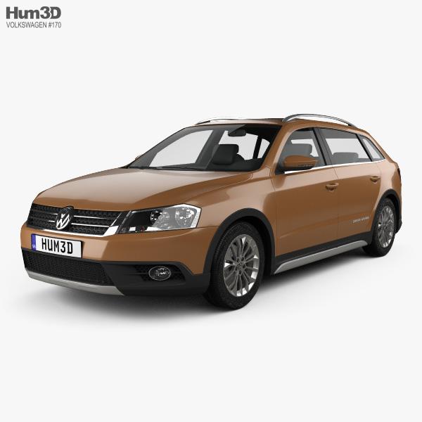 3D model of Volkswagen Cross Lavida 2013