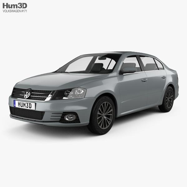 3D model of Volkswagen Lavida Sport 2013