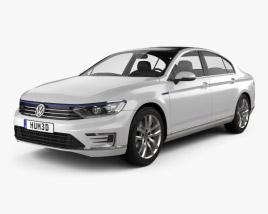 Volkswagen Passat (B8) セダン GTE 2015 3Dモデル