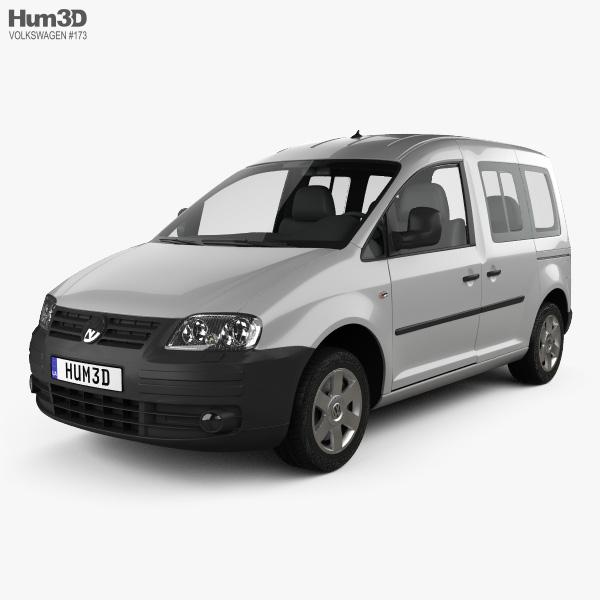 Volkswagen Caddy 2004 3D model