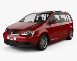 3D model of Volkswagen Touran 2003