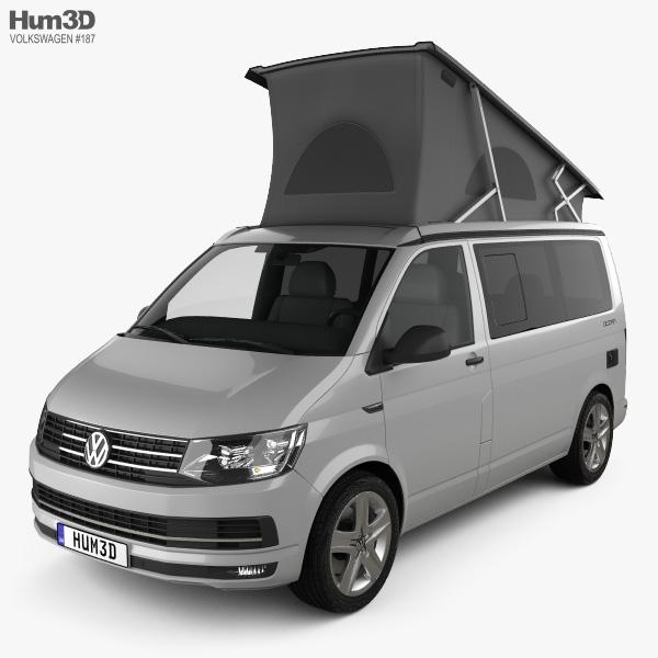 Volkswagen Transporter (T6) California 2016 3D model