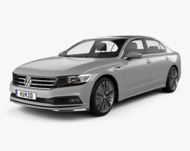 3D model of Volkswagen Phideon 2017