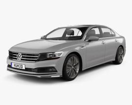 Volkswagen Phideon 2017 3D model