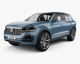 Volkswagen T-Prime GTE 2016 3D model