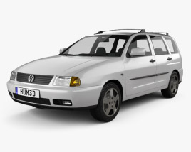 3D model of Volkswagen Polo Variant 1997