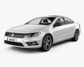 3D model of Volkswagen CC R-Line 2013