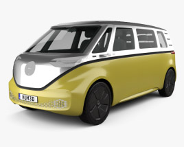 3D model of Volkswagen ID Buzz 2017
